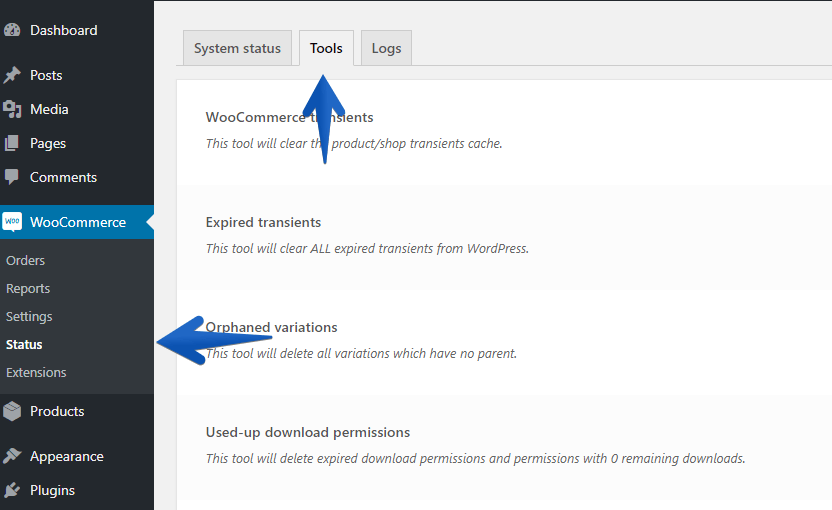 How To Access WooCommerce Tools