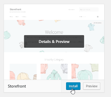 How To Install the Storefront Theme for WooCommerce