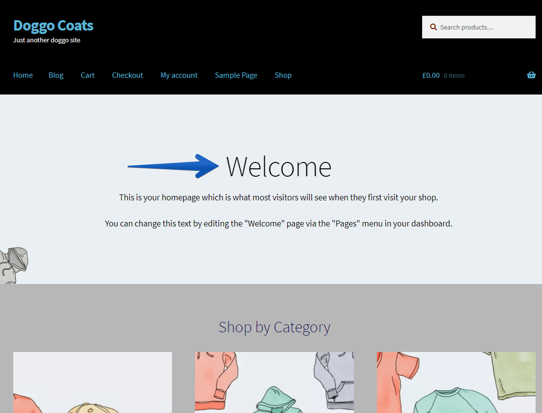 WordPress Customizer Change Main Page Heading Color