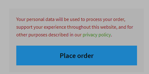 WordPress Customizer Privacy Policy Link Settings