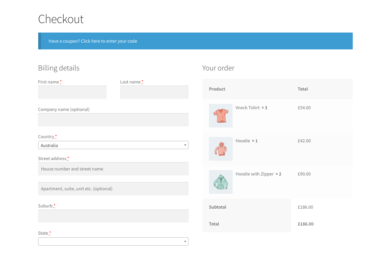 Add product thumbnail to the WooCommerce Checkout