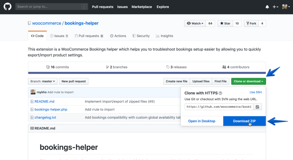 The Bookings Helper plugin is developed by WooCommerce and maintained over at Github.