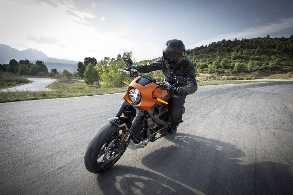 Man on a motorbike