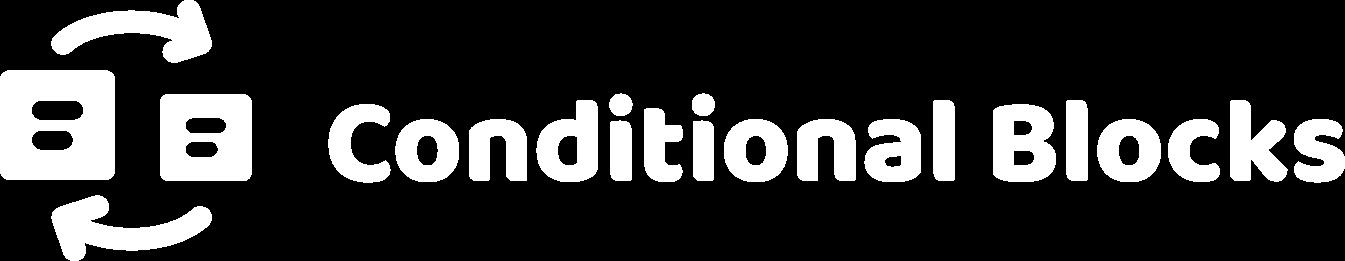Conditional Blocks transparent logo