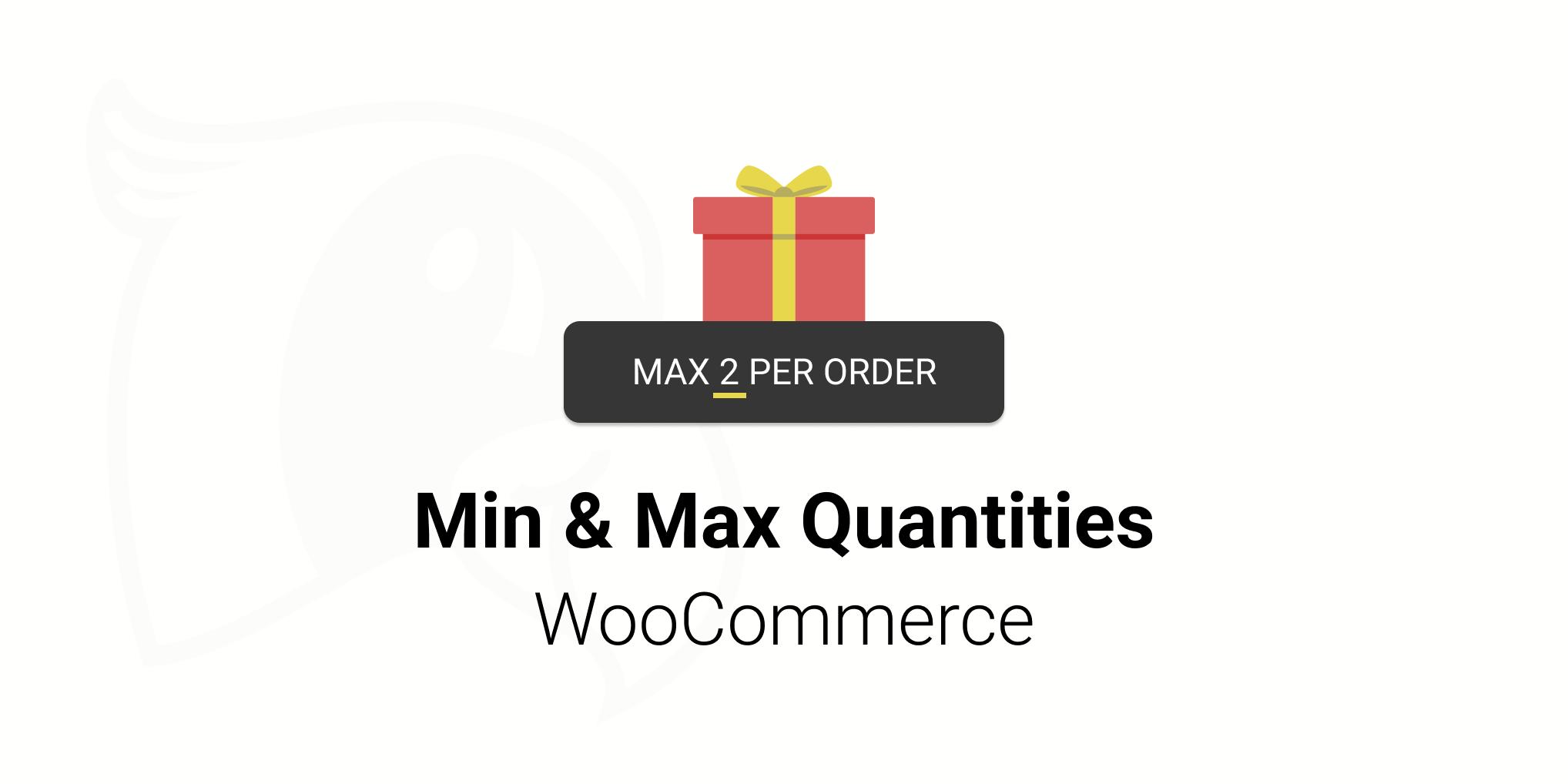 Minimum and Maximum Quantties plugin logo