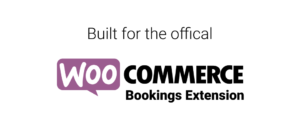 Logo of the WooCommerce Bookings extension