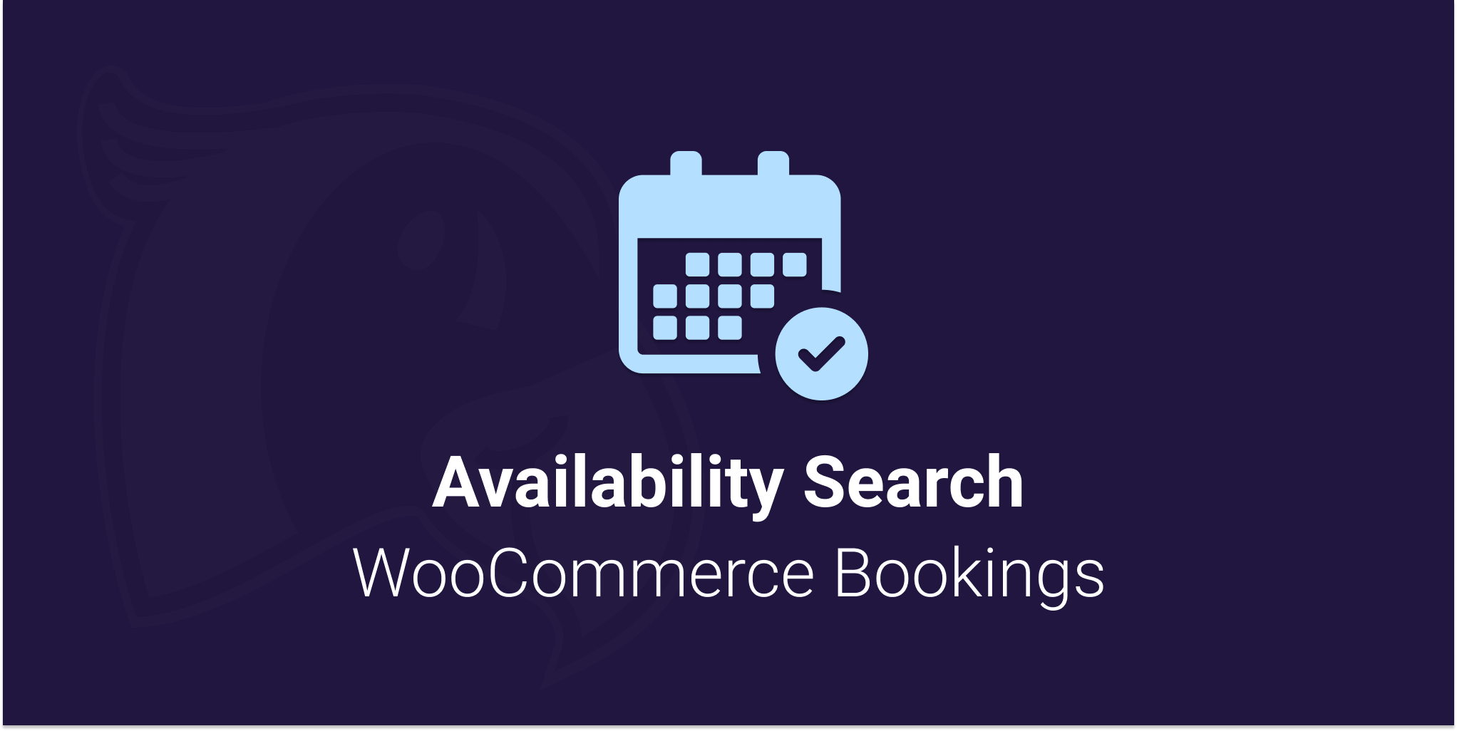 Logo for Availability Search for WooCommerce Bookings