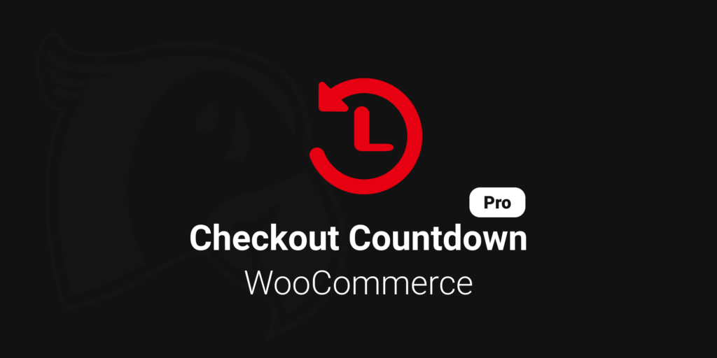 Logo for the Checkout Countdown Pro for WooCommerce