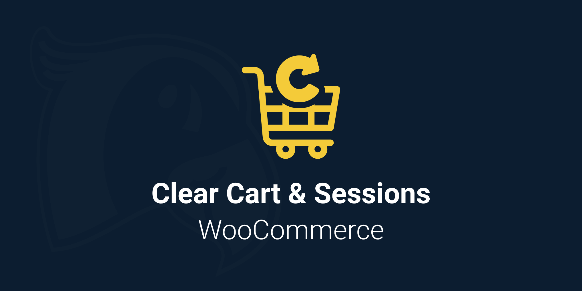 Clear Cart & Sessions logo for WooCommerce