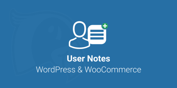 Logo for the User & Customer Notes Plugin for WooCommerce