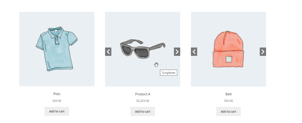 Touch support for WooCommerce image carousel